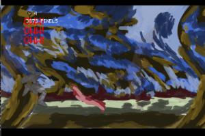 the warp swirl effect is done via a GLSL shader